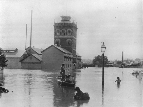 west end brewery in 1893 flood Brisbane