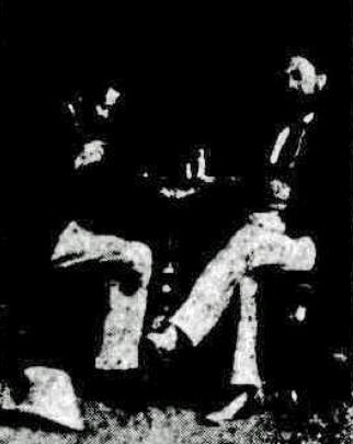 Gaujard and Abraham chess match Divan Brisbane 1874