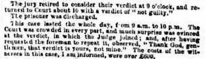 Bowen Downs rustling Case 1873