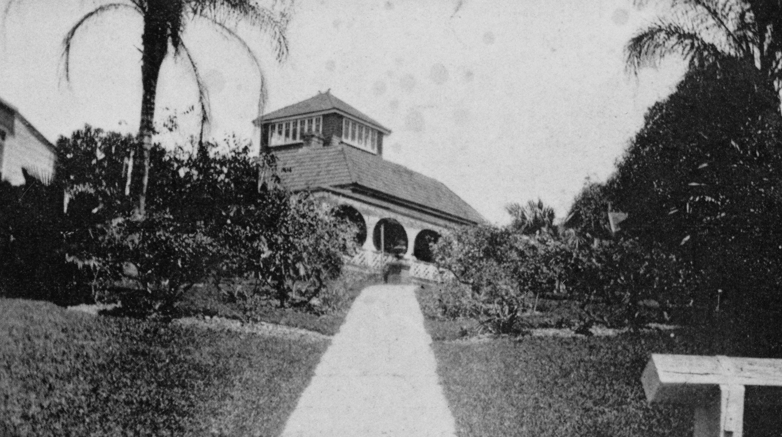 A view of Cooltigue from the garden, 193