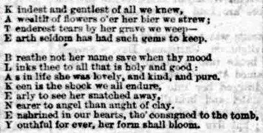 kate blakeney acrostic the week 31-12_1881
