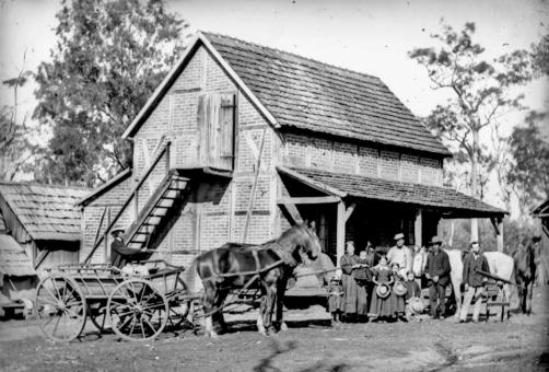 german settlers Bethania 1872