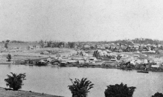 south brisbane view 1885