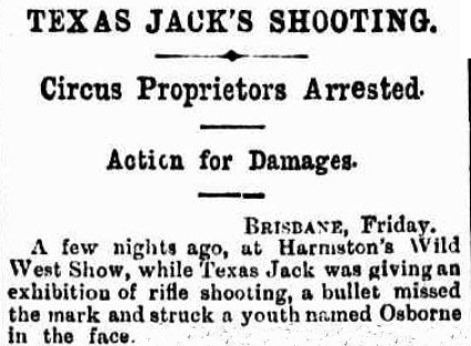 Texas Jack circus accident