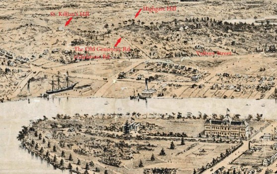 highgate hill july 1881 labelled