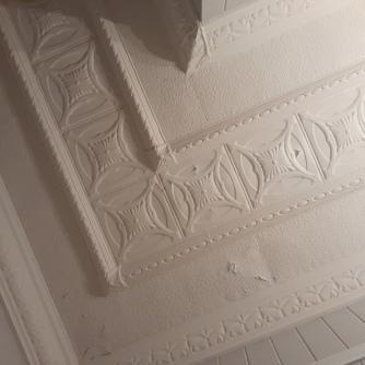 Litmus ceiling plaster