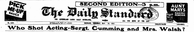 daily standard 26 may 1926 headline