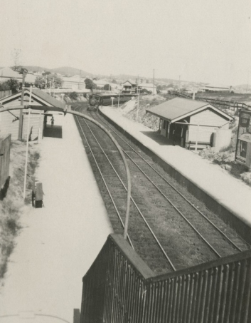 Park Road Railway Station 1925