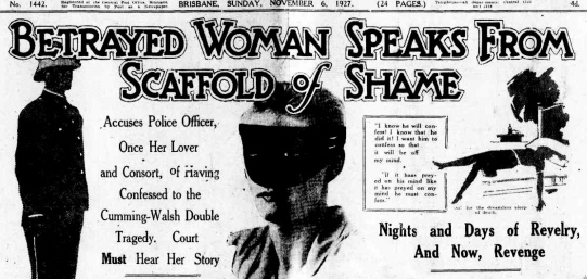 truth november 6 1927 betrayed woman