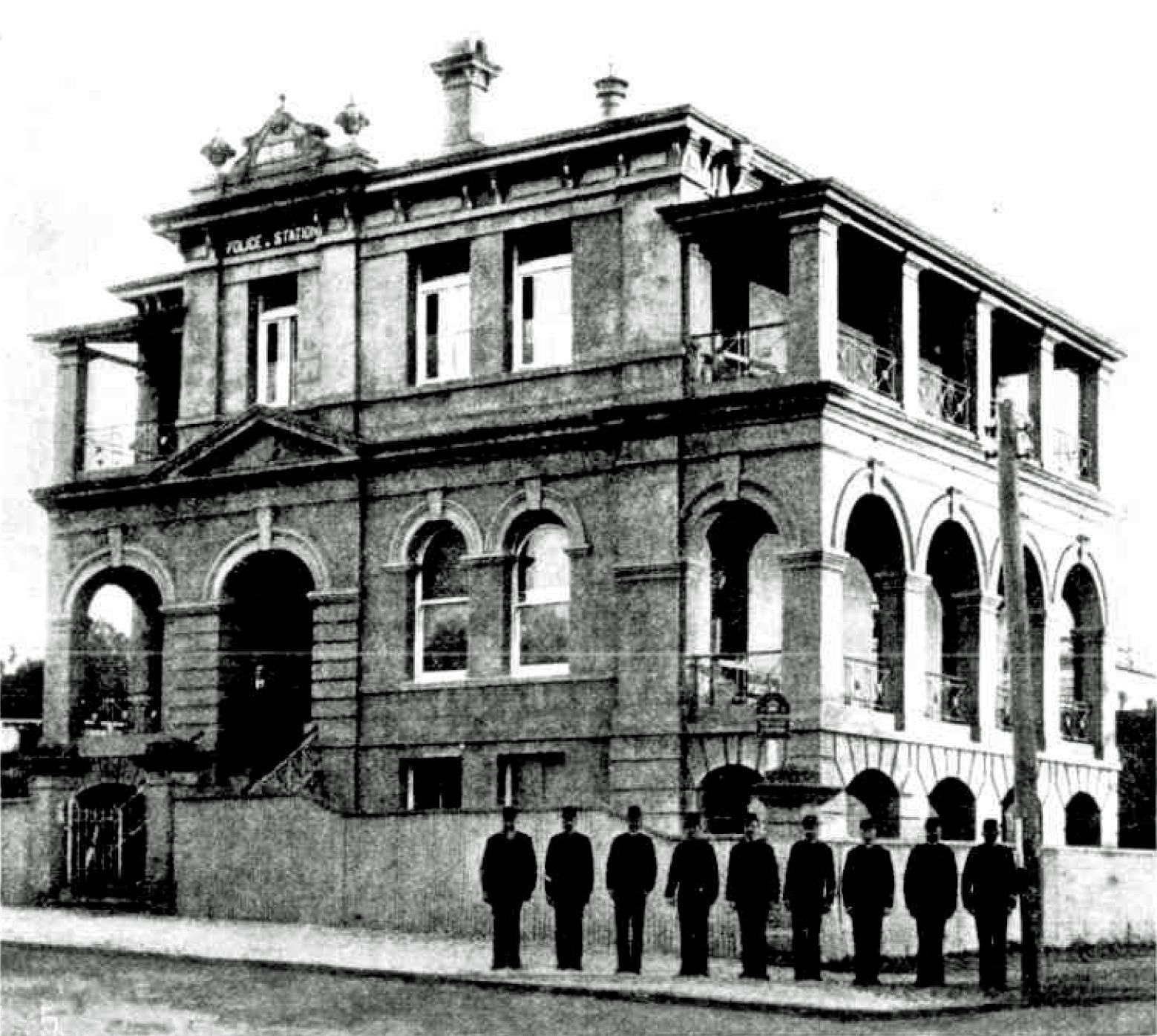 sydney daily mail sep 10 1898 sb police station