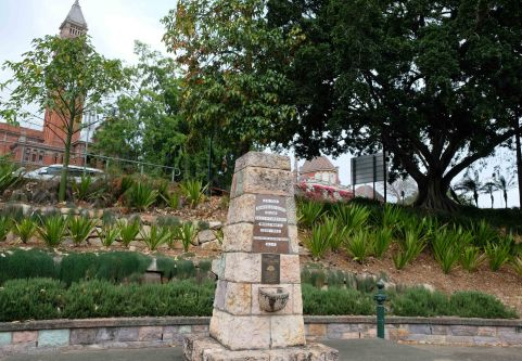 south brisbane war memorial park