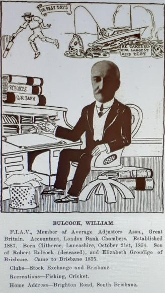 """Queenslanders as we know 'em"". Newspaper cartoonists Association 1915."