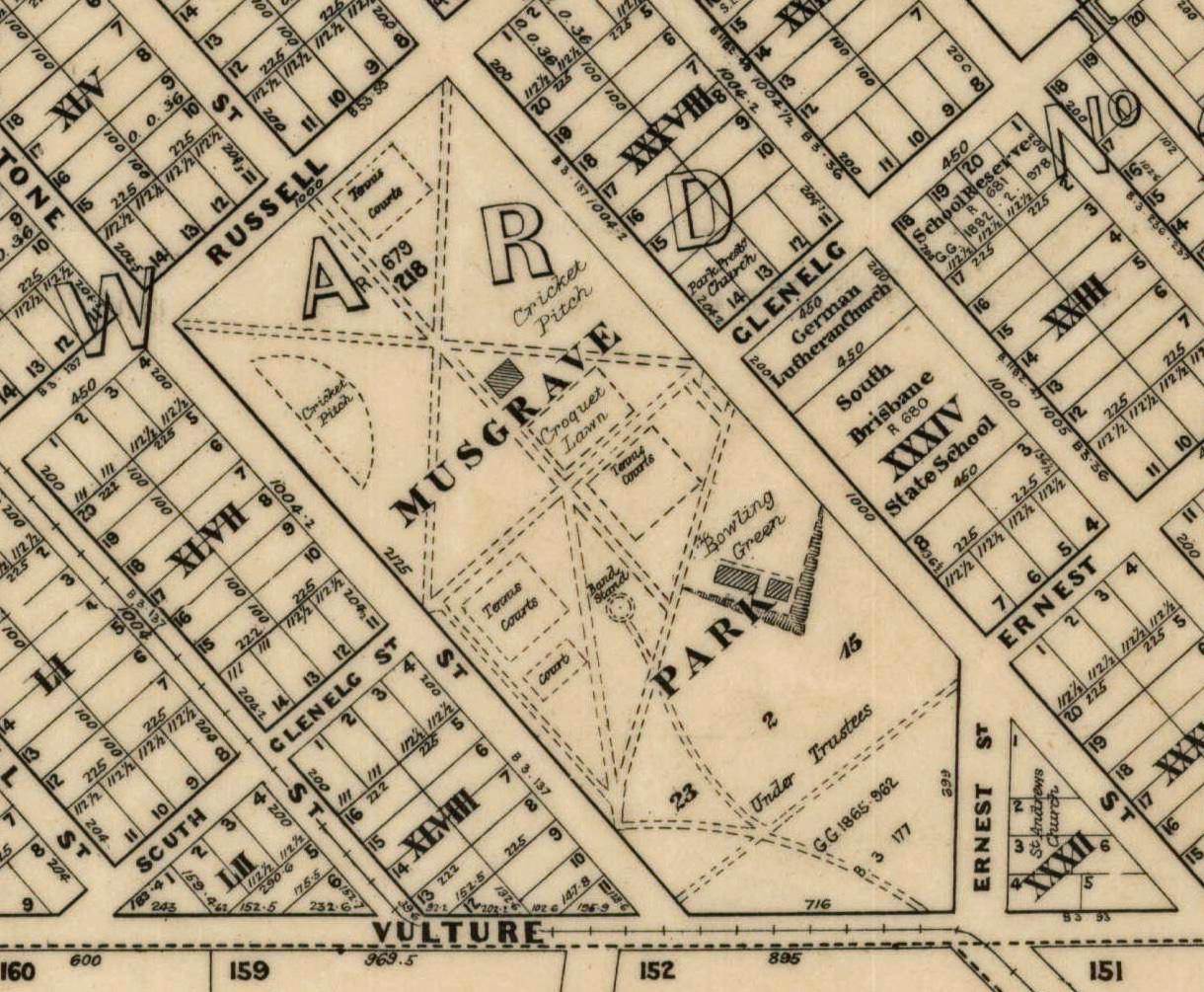 musgrave park 1914 survey map state archives