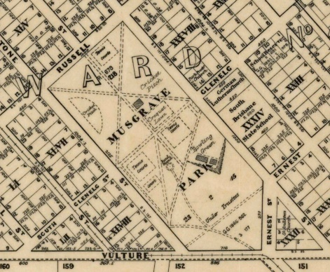 musgrave park 1914 survey map state archives