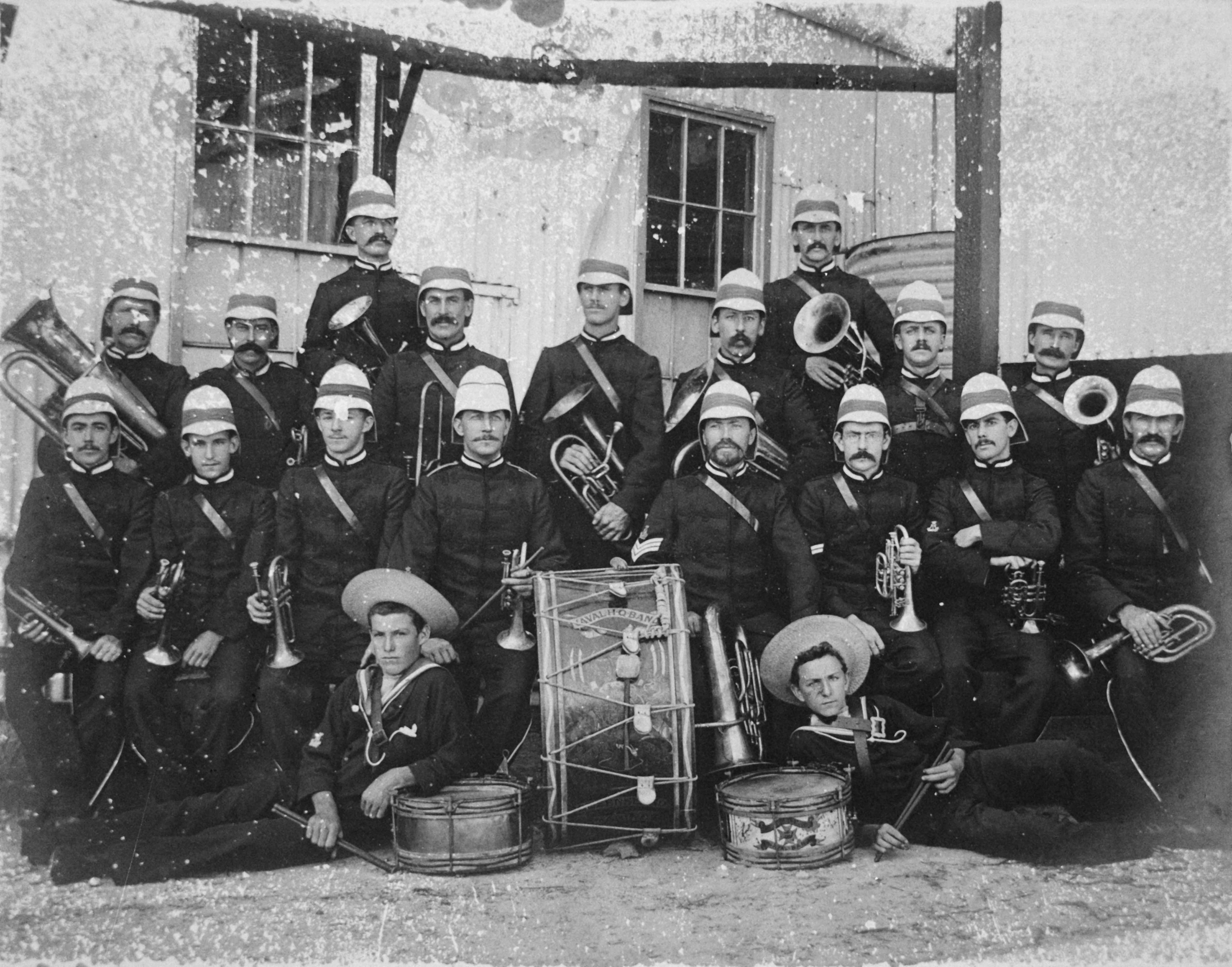 naval reserve band 1901