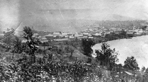 view of south brisbane 1868 crop