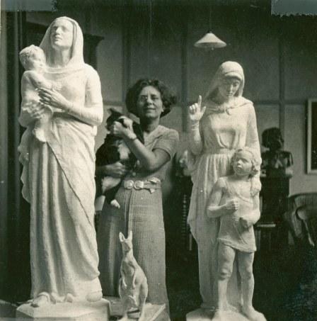 mayo highgate hill studio hobart statues