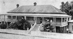 Riverview, 234 Vulture Street home of Joseph Bains built in the 1860s demolished ca 2018.