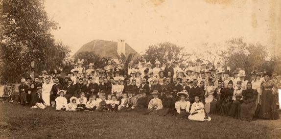 the lutheran congregation hawthonre street ca 1896 slq
