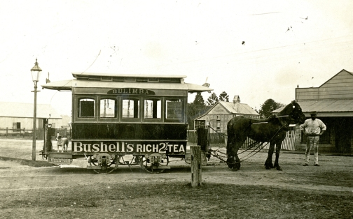 bulimba horse tram BCC