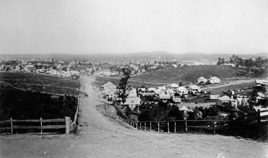 gloucester street view ca 1890
