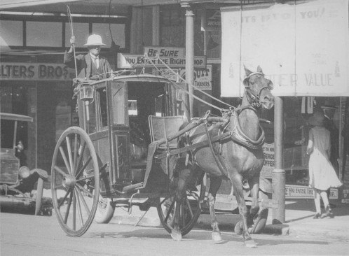 hansom cab fred port qm