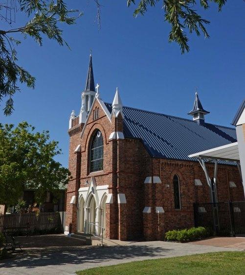 nazareth church front voew