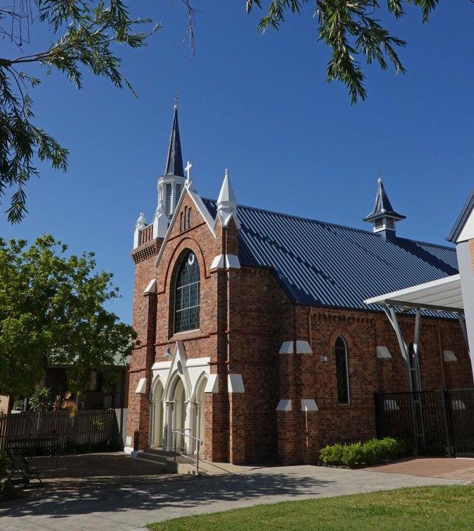 Nazareth Lutheran church Woolloongabba. (P. Granville)