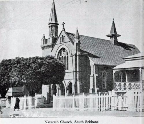 nazereth church 1930 theile book