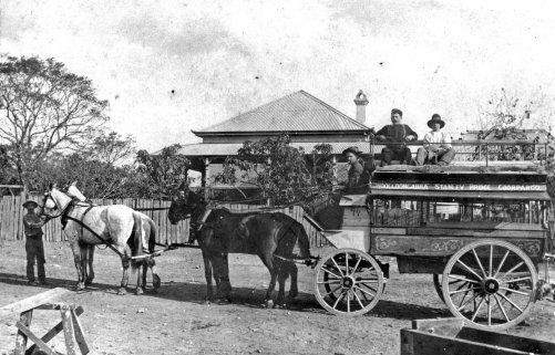 omnibus double decker 1904