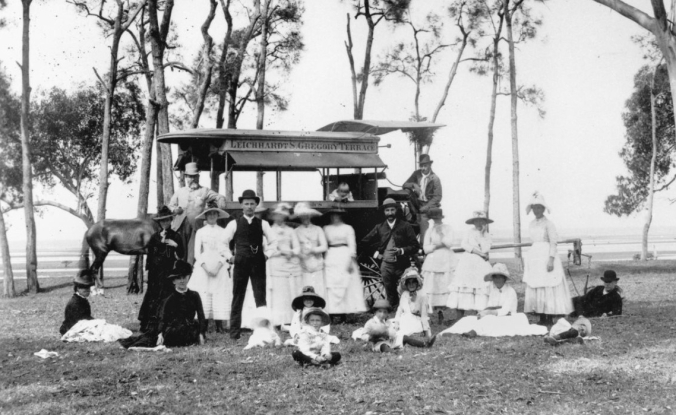 picnic group at lota slq