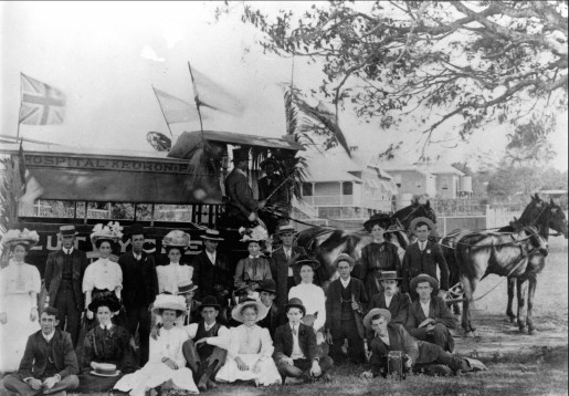 picnic group ca 1900