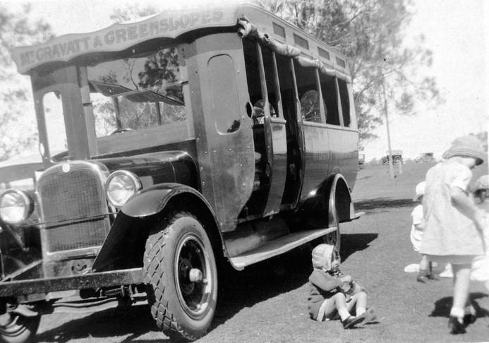 mt gravatt howatson bus history site