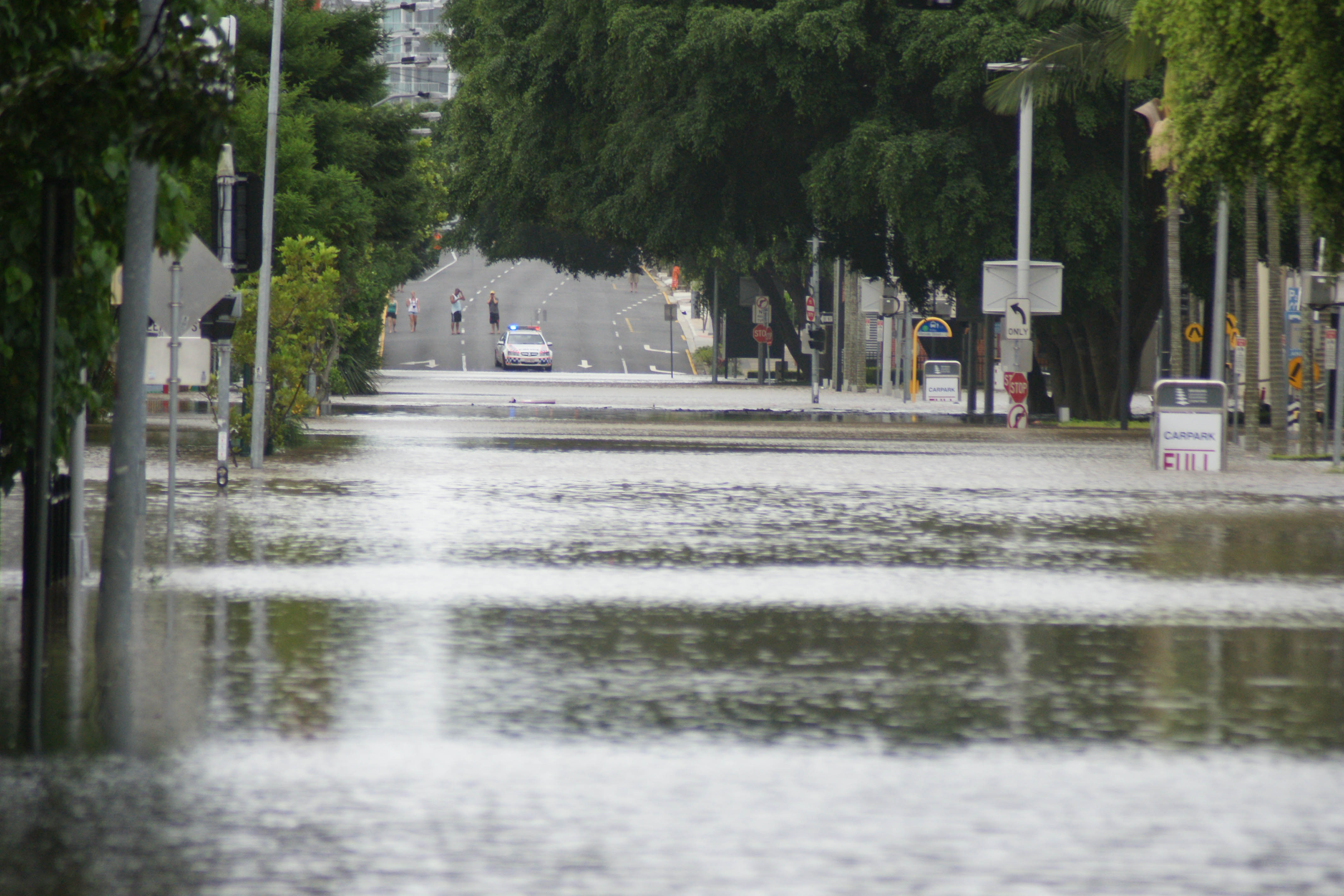 Merivale Street 2011 flood Brisbane