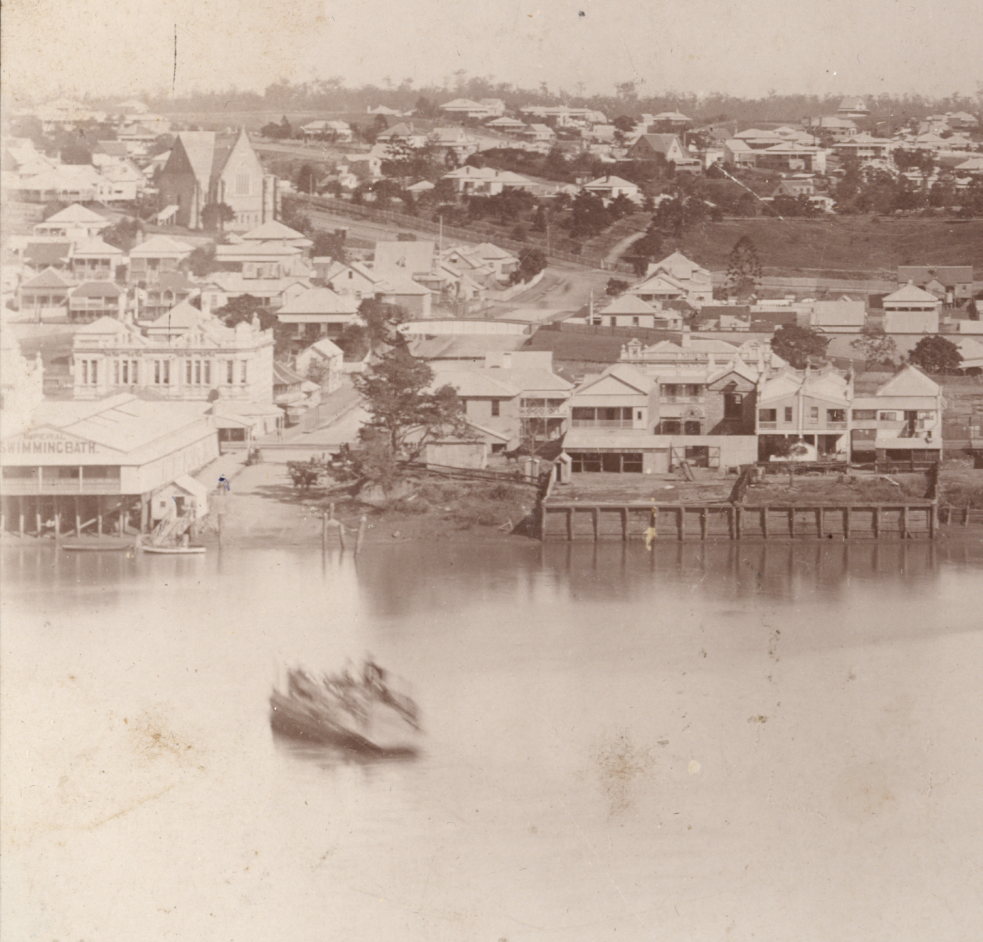 new ferry Ernest street ca 1883