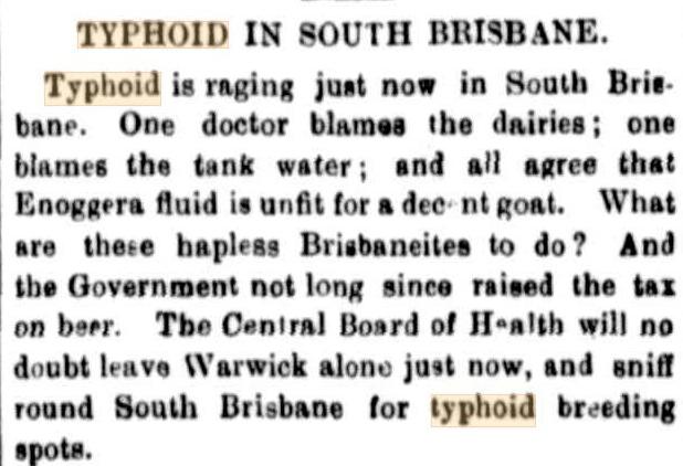 typhoid sb 1889