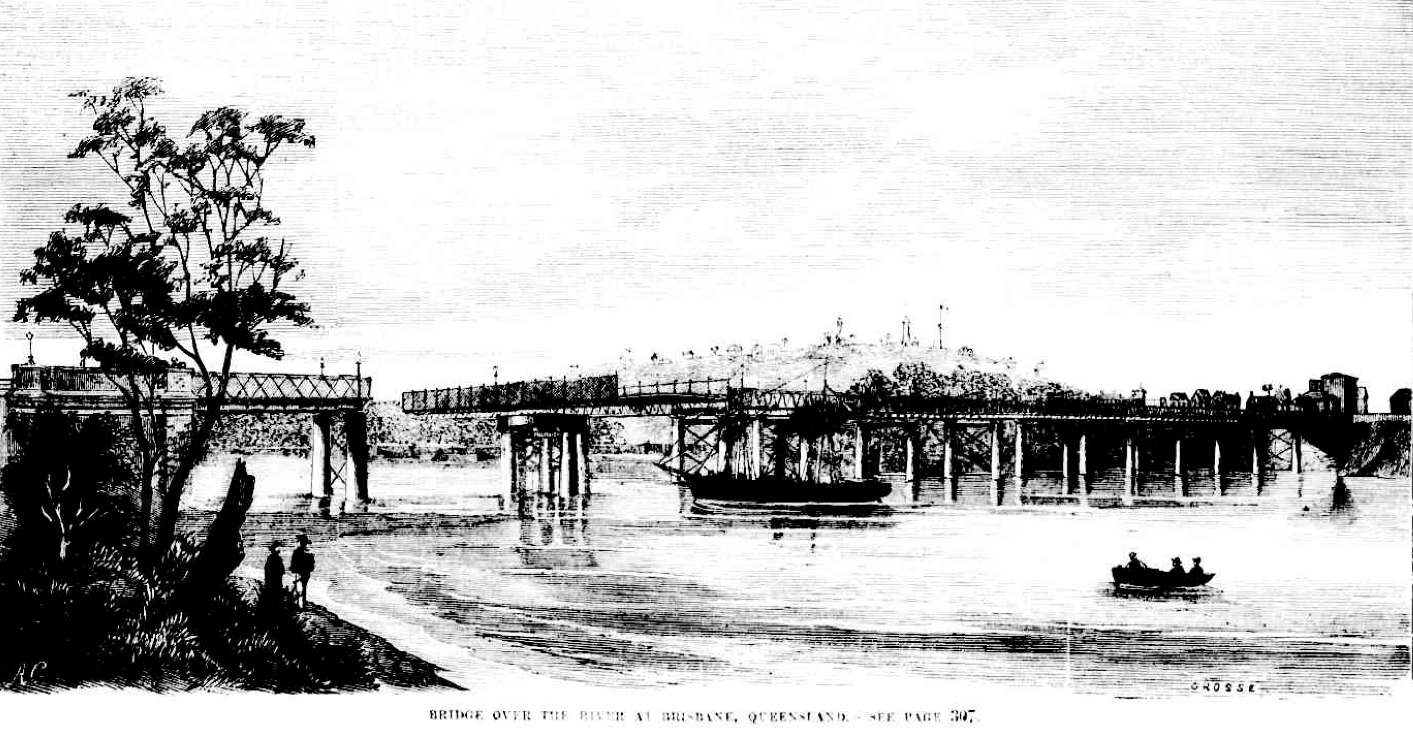 victoria bridge illustration illustrated sydney news 1868 feb