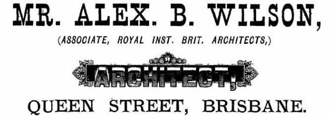 a b wilson ad 1885