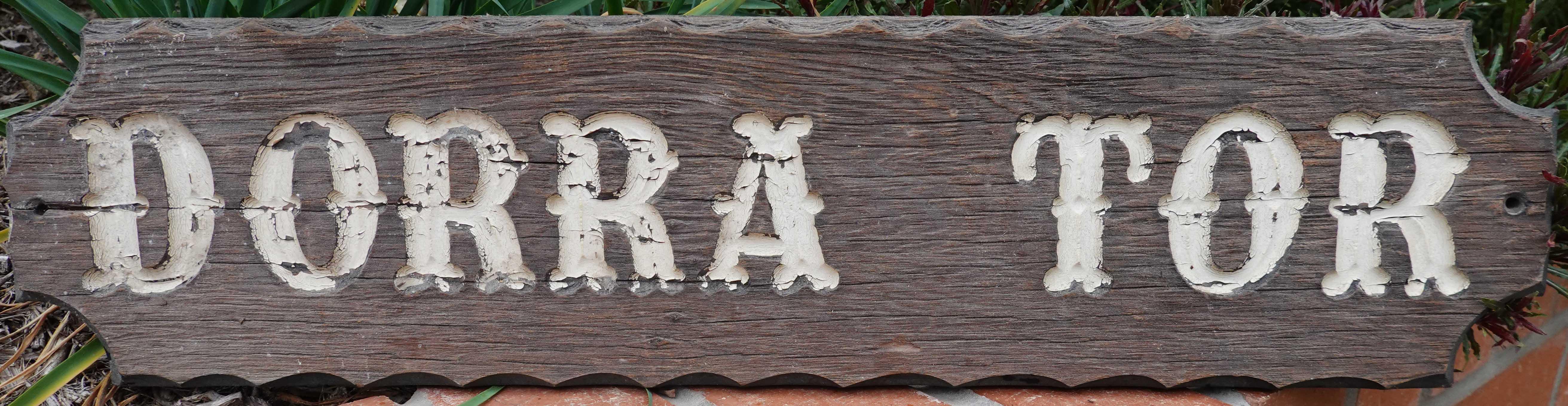 dorra tor name plate