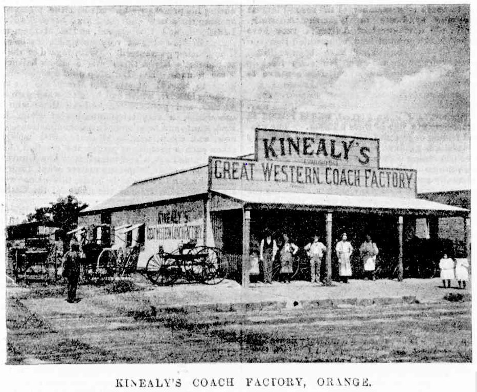 kinealys coach factory freemans fournal 1 apr 1899
