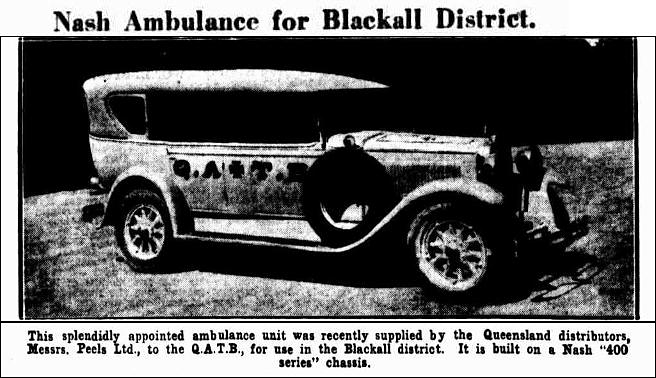 nash ambulance peels courier 13 june 1929