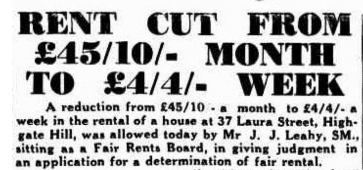 rent reduced tele 18 may 1843