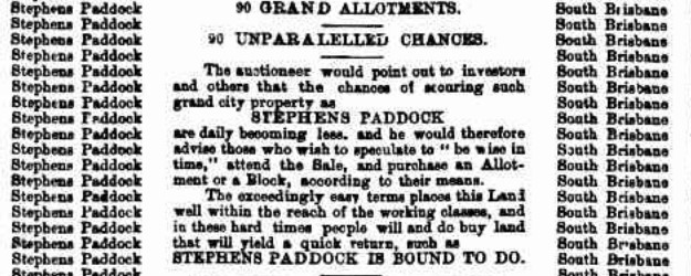 stephens paddock extract 2 tele 6 june 1890