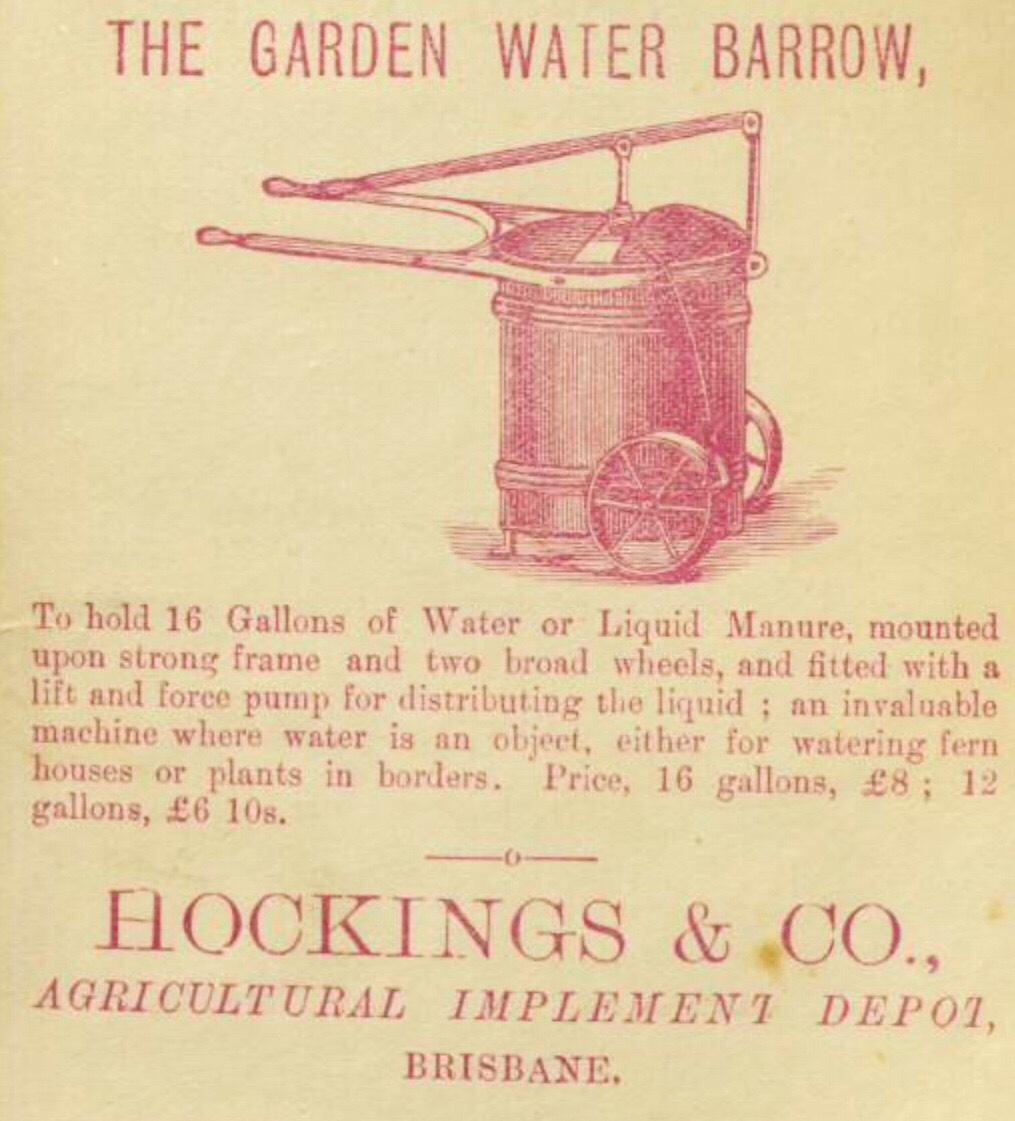 garden water barrow