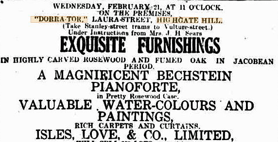 dorra tor furnishing saler bc 17 feb 1923