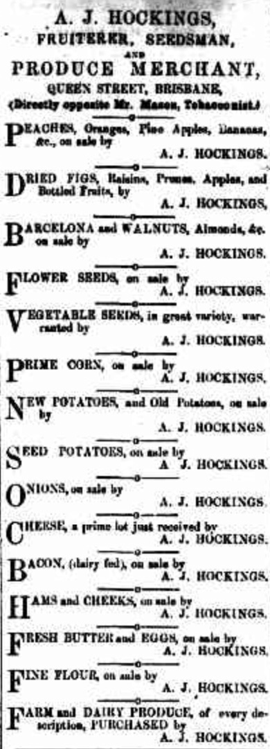 Hockings ad 1855