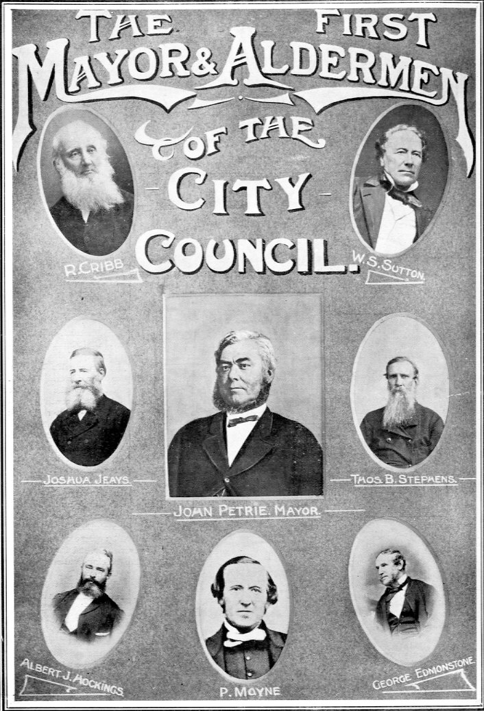 first Brisbane town council