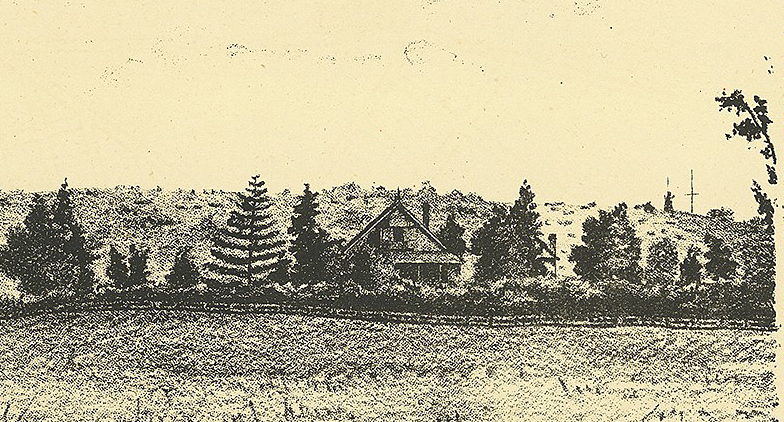 view of the oaks from montague estate ca 1883