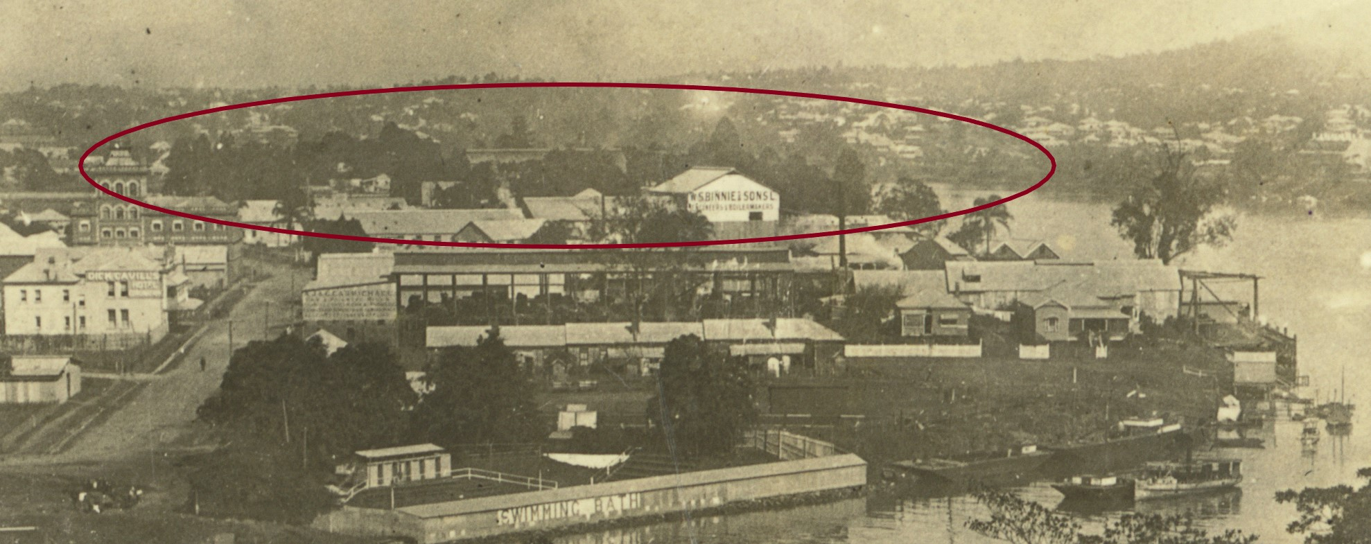 view south brisbane marrs ca 1918 slq