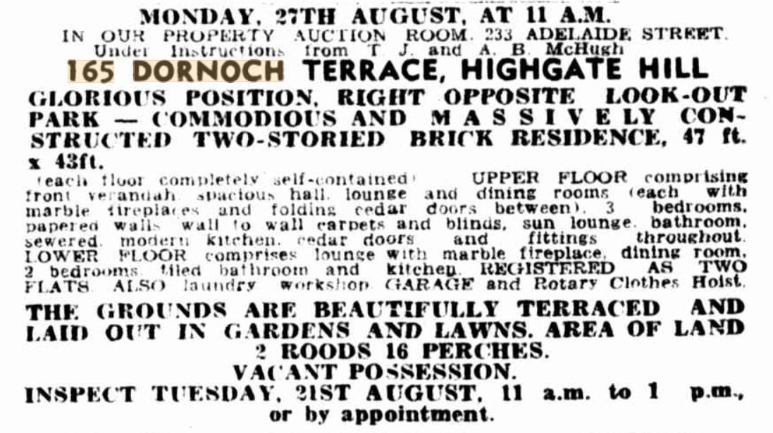 daar lodge for sale 11 aug 1951 telegraph